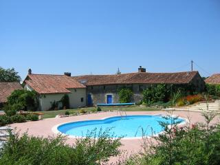 Family Friendly Farmhouse & Private Pool & Horses - Niort vacation rentals