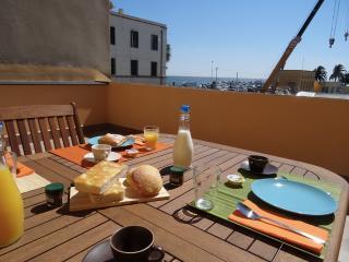 Fronte mare sul porto con grande terrazza - Imperia vacation rentals