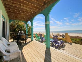 Heavenly Beachfront Home with Hot Tub, Spacious Living Area for Family Fun - Port Saint Joe vacation rentals