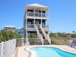 Beachfront, Heated Private Pool , Elev, 4 King MB, North Cape 12/19 $2490/wk - Cape San Blas vacation rentals