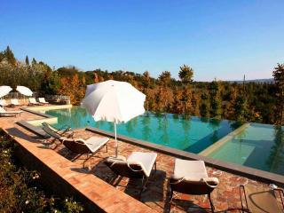 8 bedroom Villa in Montaione, San Gimignano, Volterra and surroundings - Corazzano vacation rentals