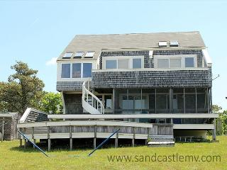 CHAPPAQUIDDICK HOME WITH EXPANSIVE VIEWS OF KATAMA BAY AND A SALT WATER MARSH - Chappaquiddick vacation rentals