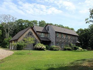 WALK TO BEACH FROM THIS TRANQUIL SETTING. HAS AC - Vineyard Haven vacation rentals