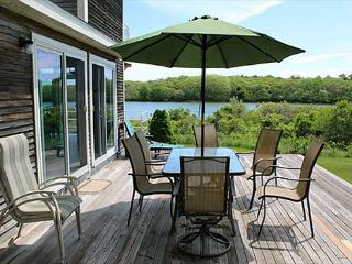 WONDERFUL, ATTRACTIVE WATERFRONT HOUSE LOCATED ON EDGARTOWN GREAT POND - Edgartown vacation rentals