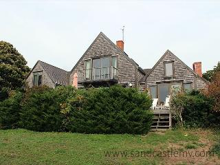 Enjoy beautiful views of Vineyard Sound! - Menemsha vacation rentals