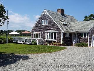 Beautiful Chappaquiddick, Caleb's Pond waterfront property - Edgartown vacation rentals
