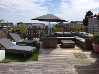 Les Iris with 75 sq m roof terrace - Antibes vacation rentals
