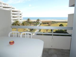 CANET PLAGE VUE MER ACCES DIRECT PLAGE. Wifi - Canet-Plage vacation rentals