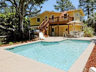 Sand Dollar Rd 29, 5 Bedrooms, Private Pool, 2nd Row Ocean Home, Sleeps 10 - Hilton Head vacation rentals