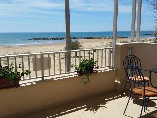the terrace overlooking the sea - Donnalucata vacation rentals