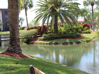 Serene gated condo on river 2 mins from downtown - North Fort Myers vacation rentals