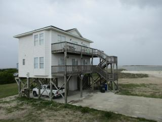 North Topsail Beach, Views of inlet and beach - North Topsail Beach vacation rentals