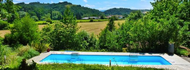 Riverside Chalet with pool near Biarritz (1) - La Bastide Clairence vacation rentals