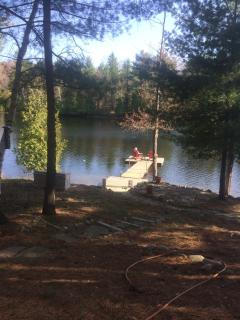 Beautiful Cottage with new dock, waters edge patio - Cloyne vacation rentals