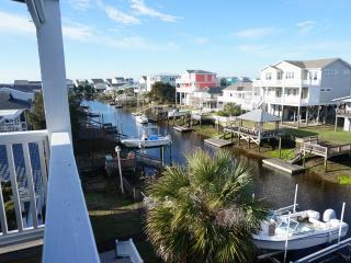 Large home on deep water-walk to ocean & beach - Holden Beach vacation rentals