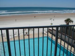 Direct Oceanfront Updated Studio - Daytona Beach vacation rentals