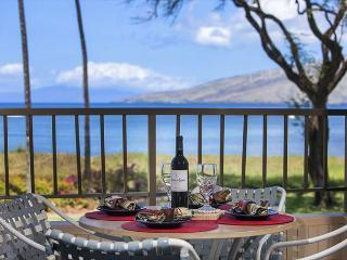 Koa Lagoon #206 Panoramic Ocean Views, 1BD/1BA, Sleeps 4. Great Rates! - Kihei vacation rentals