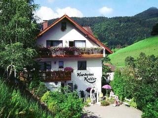 Vacation Apartment in Bad Peterstal-Griesbach - 969 sqft, 1 bedroom, 1 living room / bedroom, max. 4… - Bad Peterstal-Griesbach vacation rentals