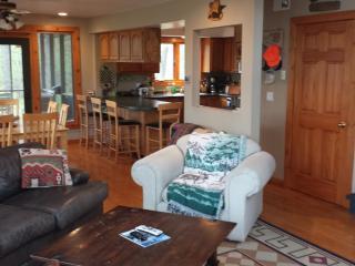 Northwoods Lake Home/Cabin Oak Lake Webster WI - Webster vacation rentals
