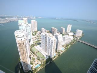 Best highest water view luxry MiamiBrickell54floor - Miami vacation rentals