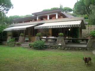 Tasteful Villa-part surrounded of  greenery - Castiglione Della Pescaia vacation rentals
