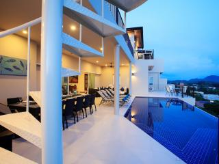 TURQUOISE: 8 Bedroom, Seaview, Private Pool Villa - Nai Harn vacation rentals