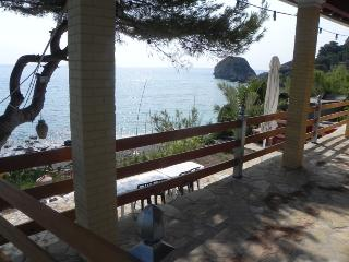 Beachfront Villa for 2 to 4, quiet, secluded - Agios Gordios vacation rentals