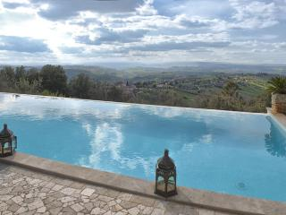 Villa La Perla beautiful home that enjoys a magnificent panorama of un-spoil - Calvi dell'Umbria vacation rentals