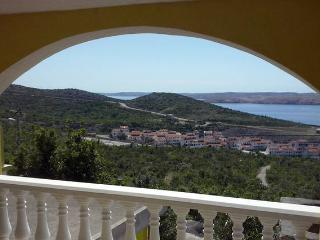 Apartment Suzy 2 with sea view - Jablanac vacation rentals