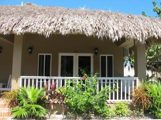 Our beautiful thatched roof cabana 13B - San Pedro vacation rentals