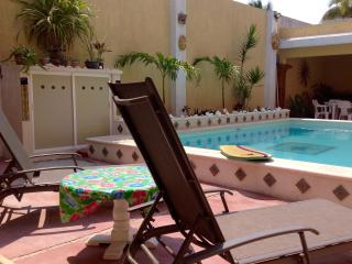 Poolside in the Mexican beach village of Chelem! - Chelem vacation rentals