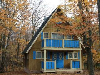 Located at Base of Powderhorn Mtn in the Western Upper Peninsula, A Charming Home in a Wooded Setting - Ironwood vacation rentals