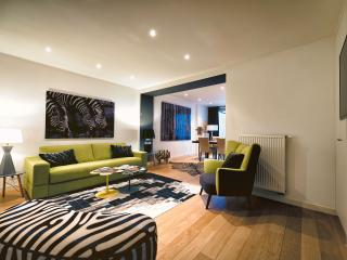 Avenue Louise - Design One-Bedroom Apartment With Garden - Ixelles vacation rentals