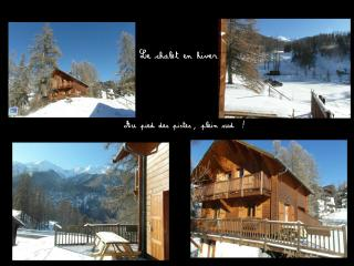 Chalet Arnica, 3 chs, terrasse sud, pied pistes - Les Orres vacation rentals