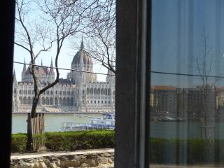 50 metres from the River Danube - Parliament view - Budapest vacation rentals
