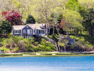MSZAM - Lovley Waterfront Retreat,  Spectacular Water Views, Multiple Decks, Open Main Living Level, Mooring Available in Front of House - Vineyard Haven vacation rentals