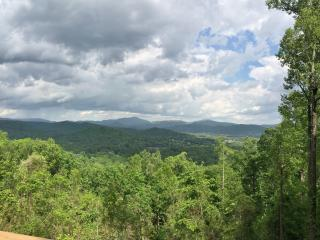 Mountaintop Log Cabin W/Pano View->20 min to dwntn - Asheville vacation rentals