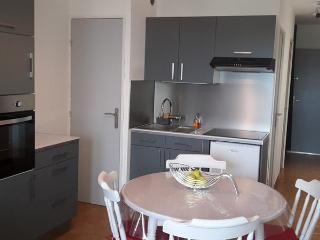 studio cabine + terrasse + parking privatif - Meze vacation rentals
