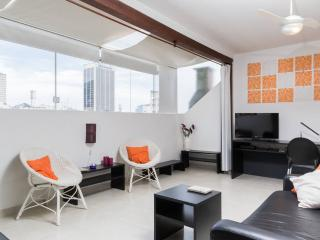 Pretty Loft on rooftop, 2 blocks Copacabana beach - Rio de Janeiro vacation rentals