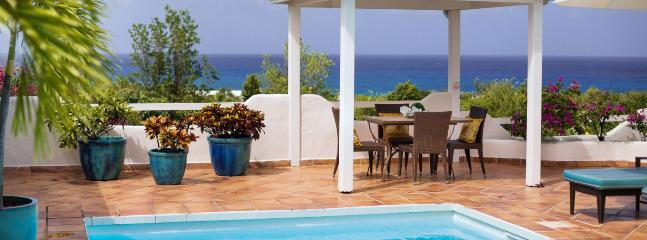SPECIAL OFFER: St. Martin Villa 77 Lying On The Ridge Of A Gentle Hill, Surrounded By Tropical Gardens And Allowing Spectacular Views South West Over The Caribbean Sea. - Image 1 - Terres Basses - rentals