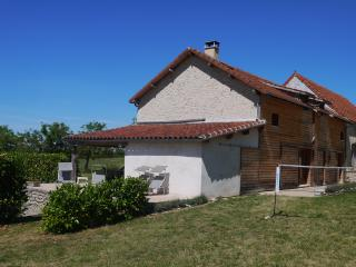 Spacious gite with natural swimming pool - Ginouillac vacation rentals