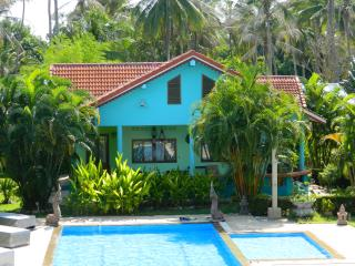 Lush 2 BRM bungalow with pool & tropical garden - Surat Thani vacation rentals