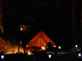 Kinda Kamping Bell Tent Glamping with heated pool - Mialet vacation rentals