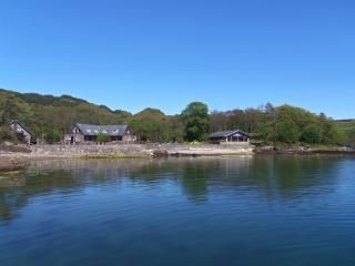 Dockmaster ,has a sauna, log fire,spa bath, 2 TV' - Oban vacation rentals