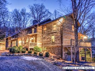 Rustic & Unique! Expansive 5BR/4BA Cabin on Private, Wooded Acreage Only - Boone vacation rentals