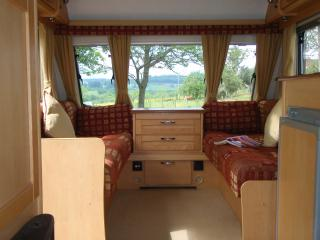 3 Berth Luxury Caravan with Chateau Views - Hautefort vacation rentals