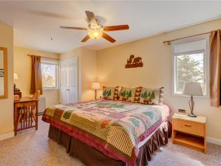Perfect 2 bedroom Stratton Mountain Apartment with Deck - Stratton Mountain vacation rentals