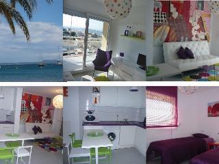 *Appartement d'artiste*,terrasse,belle vue mer,pkg - Roses vacation rentals