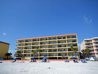 Las Brisas 202 - Gulf Front Three Bedroom, Two Bath Condo with Pool and BBQ! - Madeira Beach vacation rentals