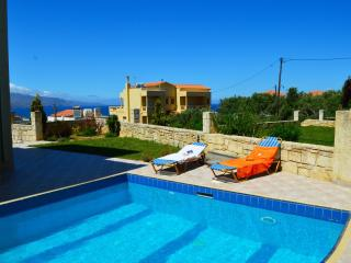 Villa Antigoni pool& seaview 10% OFF EARLY BOOKING - Tavronitis vacation rentals